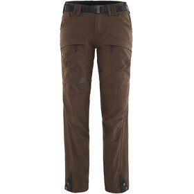 Klättermusen W's Gere 2.0 Pants Regular Dark Coffee